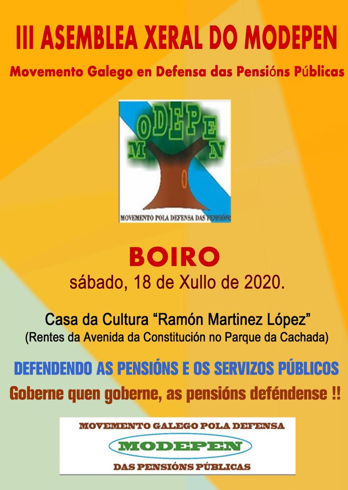 18 de Xullo de 2020 en Boiro